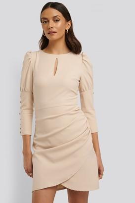 Trendyol 3/4 Button Sleeve Mini Dress