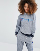 Champion Oversized Hoodie With Script Logo