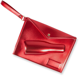 8 Oak Lane Champagne Red Small Clutch