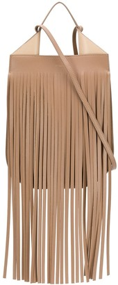 REE PROJECTS Helene fringed shoulder bag