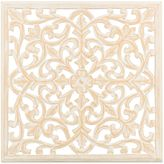 Bed Bath & Beyond Moroccan Inspired 24-Inch Square Decorative Wood Carved Wall Panel