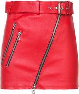 Amiri biker mini skirt