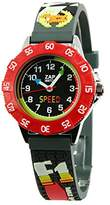 Baby Watch 3700230606122 Montre ZAP Formule 1 - Wristwatch Boy's, Plastic, Band Colour: Black