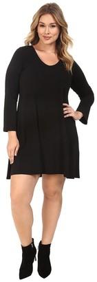 Karen Kane Women's Plus Size Taylor Dress
