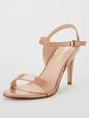 Miss KG Poppy Barely There Sandals - Nude