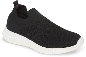 David Tate Tiptop Knit Sneaker