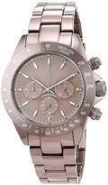 Toy Watch ToyWatch Unisex Quartz Watch with pink metal strap 0.94.0013