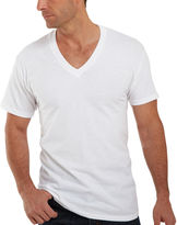 Hanes 4-pk. ComfortBlend Tagless V-Neck T-Shirt - Slim Fit
