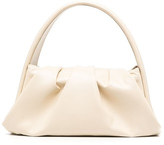 Themoire Hera ruched tote bag