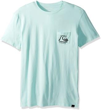 Quiksilver Young Mens Quik Pocket Ss Tee T-Shirt