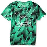 Under Armour Little Boys 2T-7 Sandstorm Printed Big Logo Short-Sleeve Tee