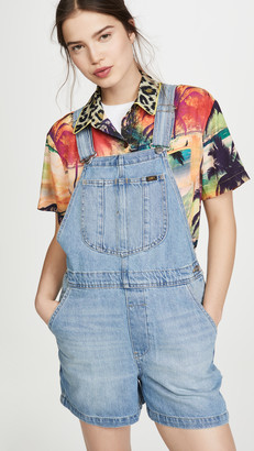 Lee Vintage Modern Relaxed Overall Shorts
