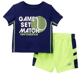 New Balance Short & Tee Set (Baby Boys)