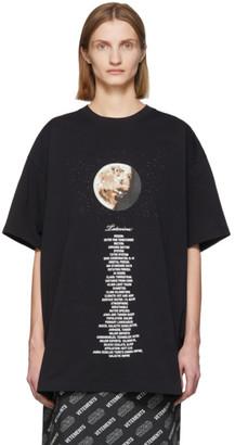 Vetements Black STAR WARS Edition Tatooine Episode IV T-Shirt