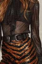Factory B-Low the Belt Bri Bri Leather Belt - Gunmetal