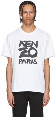 Kenzo White Paris T-Shirt