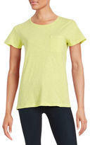 Lord & Taylor Crewneck Pocket Tee