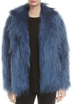 Halston Faux Fur Coat