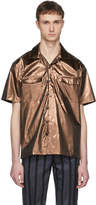 Sunnei Bronze Short Sleeve Hawaiian Shirt