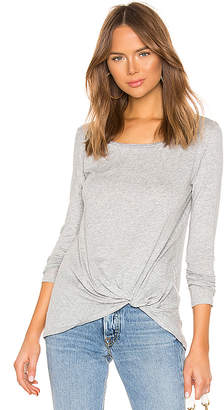 Bobi Light Weight Jersey Twist Front Tee