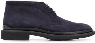 Tod's Ankle Lace-Up Boots