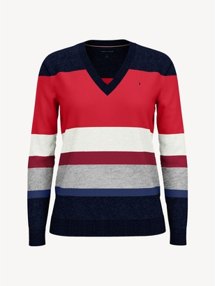 Tommy Hilfiger Essential Block Stripe Sweater