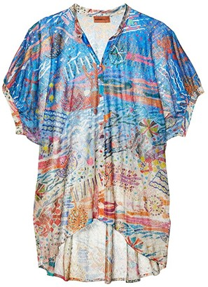 Missoni Mare Pinafore Printed Cover-Up Top (Multi) Women's Swimwear