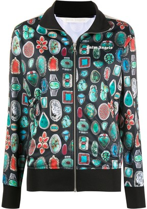 Palm Angels Gemstone Print Track Jacket