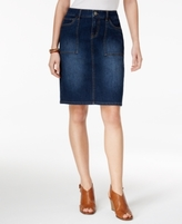 Style&Co. Style & Co Style & Co Petite Denim Skirt, Created for Macy's
