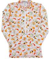 Submarine SUSHI-PATTERN TWO-TONE RASHGUARD