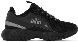 all in Black ID Sneakers