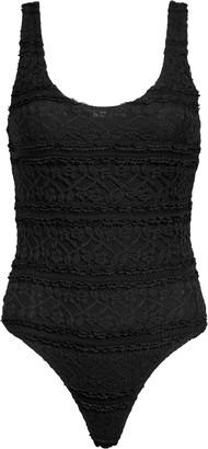 Leith Double Scoop Lace Bodysuit