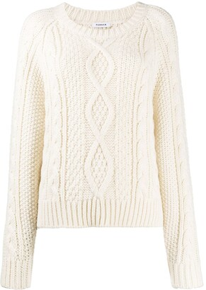 P.A.R.O.S.H. Cable Knit Sweater