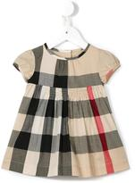 Burberry checked dress - kids - Cotton - 9 mth