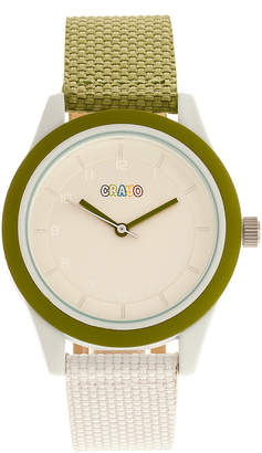 Crayo Watches Olive/White - Olive & White Pleasant Watch