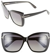 Tom Ford 'Irina' 59mm Polarized Sunglasses