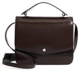 Elizabeth and James Eloise Genuine Calf Hair & Leather Shoulder Bag - Brown
