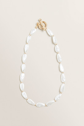 Seed Heritage T-Bar Pearl Necklace
