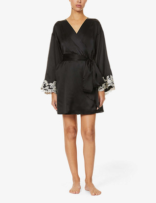 La Perla Maison silk-satin robe