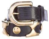 MCM Embellished Waist Belt