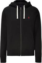 Ralph Lauren Blue Label Black Classic Athletic Fleece Hoodie