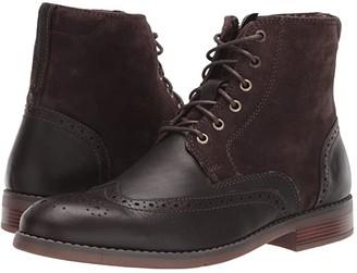 Rockport Colden Wing Tip (Dark Bitter Chocolate) Men's Shoes
