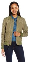 Alpha Industries Women's Scout Lightweight Nylon Bomber Jacket