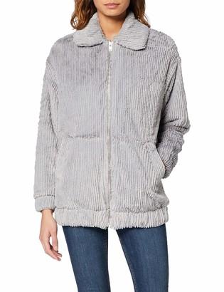 New Look Women's T Cut Faux Fur Bomber Jacket
