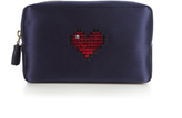 Anya Hindmarch Heart make-up pouch
