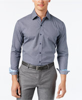 Tasso Elba Men's Pattern Long-Sleeve Shirt, Classic Fit