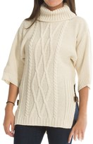 J.G. Glover & CO. Peregrine by J.G. Glover Slouch Sweater - Peruvian Merino Wool, 3/4 Sleeve (For Women)