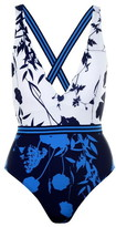 Ted Baker Bluebell V Shaped Swimsuit