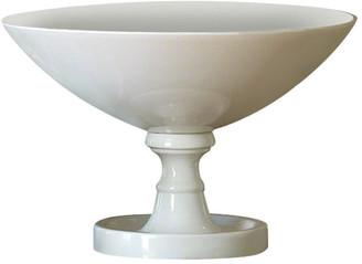 Global Views White Grand Pedestal Bowl Large