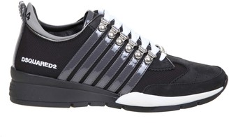 DSQUARED2 Laced Up 251 Sneakers In Nylon And Nabuk